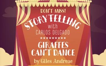 """STORYTELLING """"GIRAFFES CAN´T DANCE"""""""