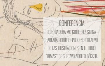 CONFERENCIA CON LA ILUSTRADORA MO GUTIÉRREZ SERNA