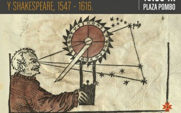 """CONFERENCIA """"LA CIENCIA EN LA ÉPOCA DE CERVANTES Y SHAKESPEARE, 1547-1616″"""