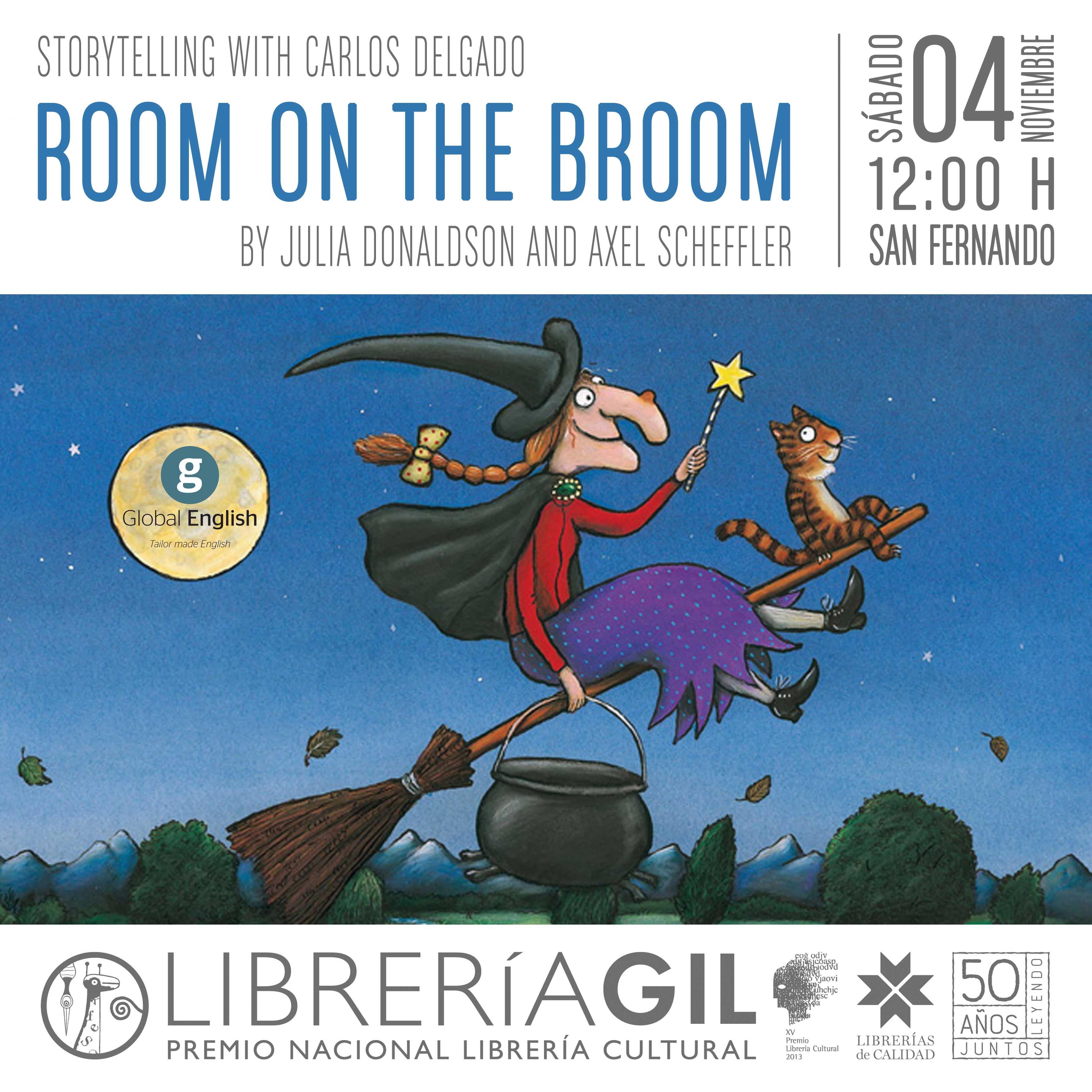 storytelling  u2022 room on the broom