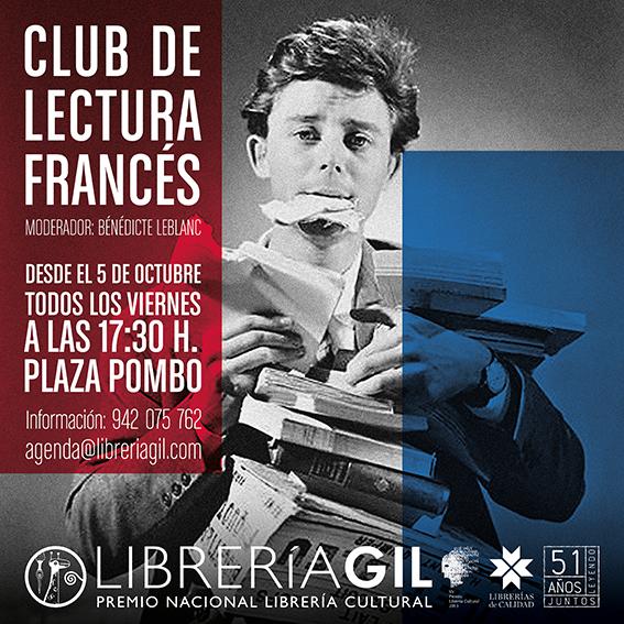 CLUB DE LECTURA FRANCES 2018