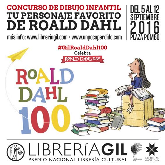 TU PERSONAJE FAVORITO DE ROALD DAHL