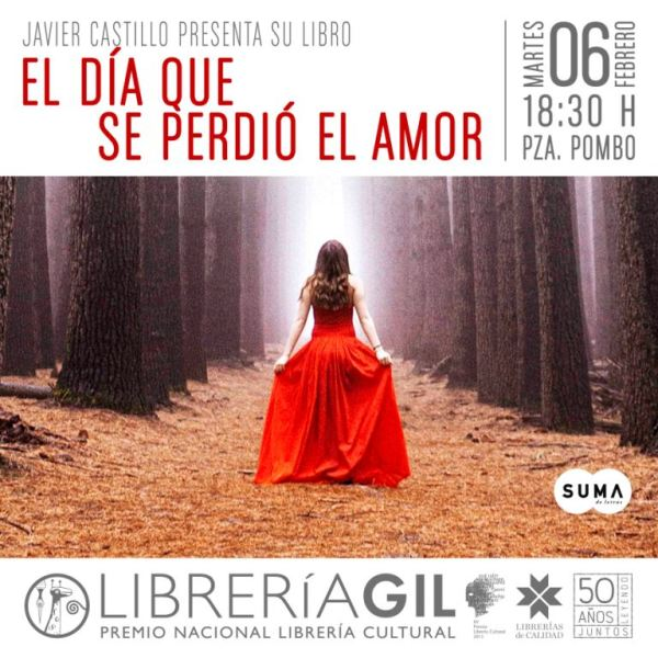 Presentación El Día Que Se Perdió El Amor Librería Gil