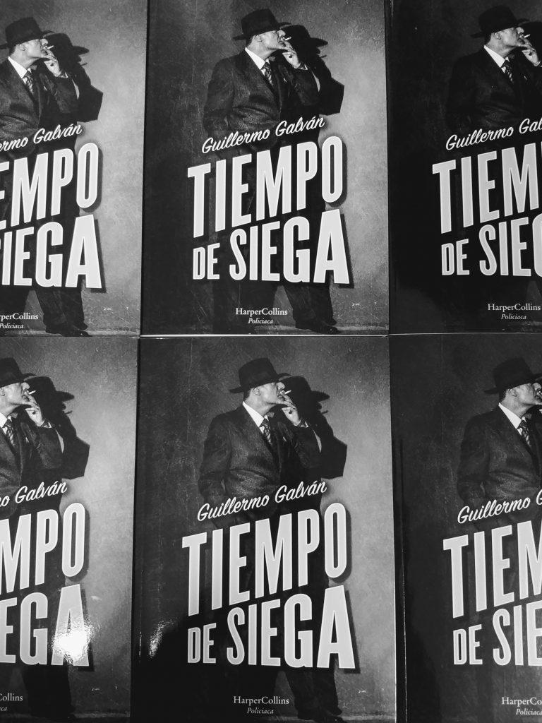 "Guillerno Galván nos presenta ""TIEMPO DE SIEGA"" • Librería Gil"